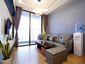 Modern 2 bedrooms apartment in M3 Vinhomes Metropolis Hanoi