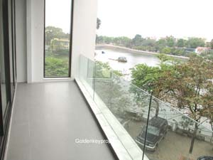 2 beds West Lake view serviced apartment in Yen Phu Hanoi