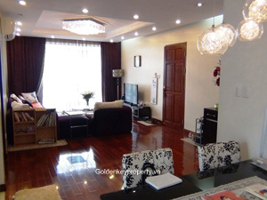 For Rent 2 bed serviced Apartment in To Ngoc Van, Tay Ho Hanoi