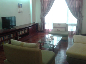 Furnished 4 bedroom house in Linh Lang street, Ba Dinh Hanoi