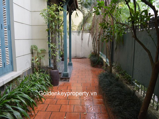 French style house for rent in Nghi Tam, Westlake Hanoi