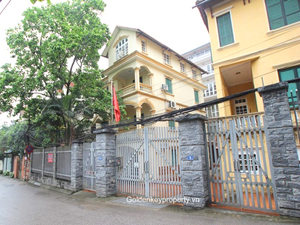 For rent house 5 bedroom in To Ngoc Van street, Tay Ho Hanoi