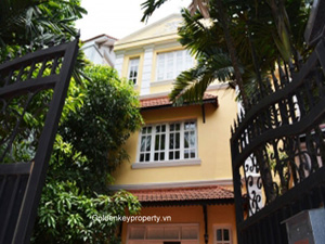 Quiet house for rent Tay Ho, To Ngoc Van street, Hanoi