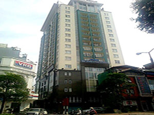 DMC Tower office space for lease on Kim Ma street