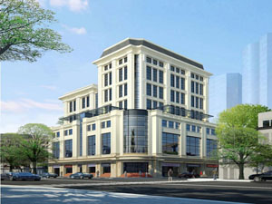 Capital Office Building for Lease at 41 Hai Ba Trung Hanoi