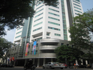 Prime Centre office for lease on Quang Trung street, Hanoi