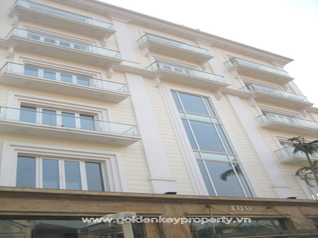 Song Long Building for Lease in Tay Ho Hanoi