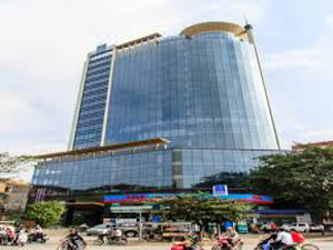 PV Oil office space for lease on Hoang Quoc Viet street